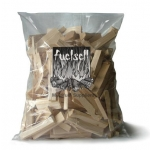 Air dried and seasoned kindling wood